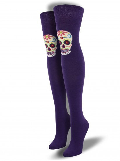 Women's Muertos Skull Over The Knee