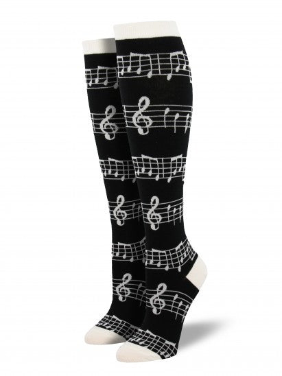 Women's Music Knee High