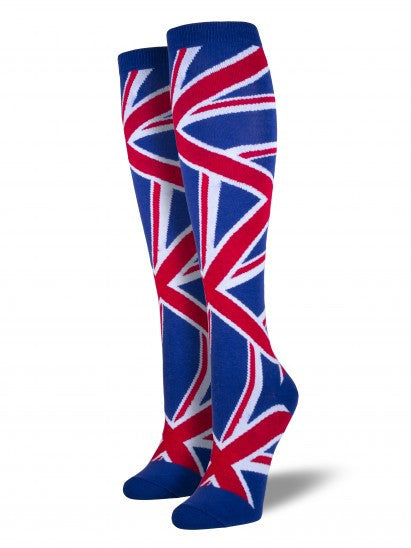 Women's Union Jack Knee High