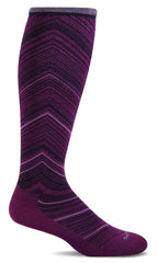 Women's Full Flattery Moderate Graduated Compression Knee High (15-20MMHG)