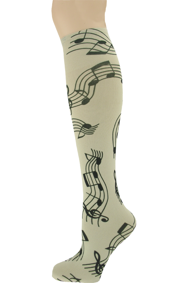 Women's Musical Knee High