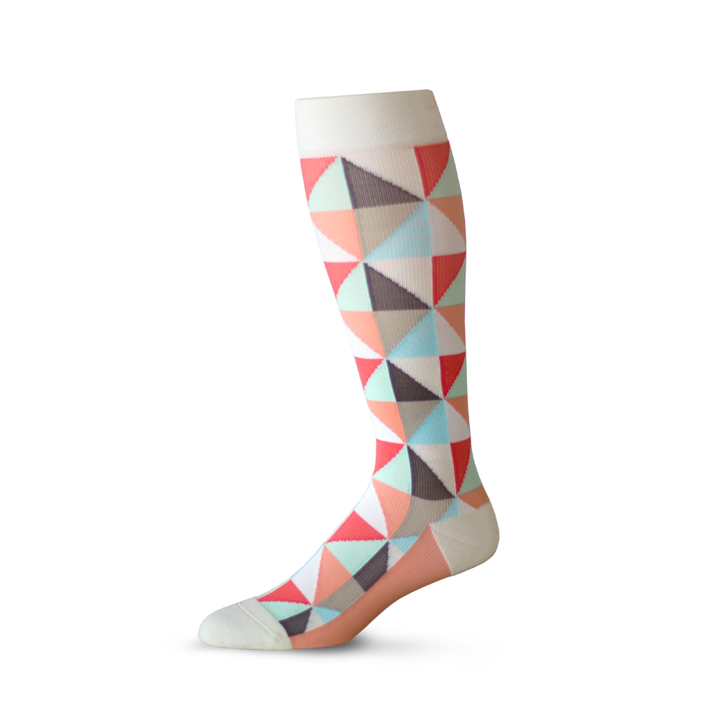 Coral Of The Story Compression Knee High (15-20 mmHg)