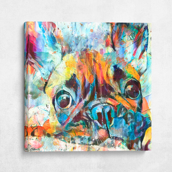 Frenchie Watercolor Pup