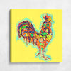 Colorful Rooster Pop Art