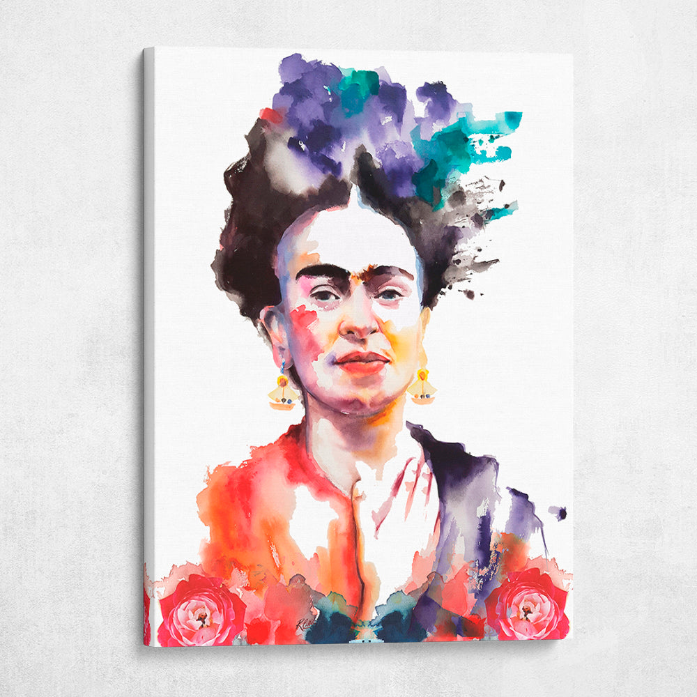 Mixed Watercolor Frida