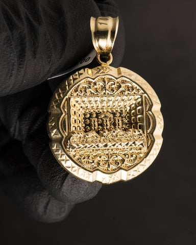 Last Supper Pendant in 10K Gold