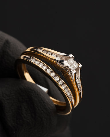 0.25 CT. Diamond Engagement Ring in 10K Gold