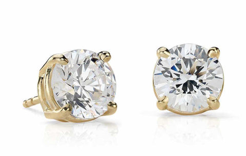 0.20 CT. - 1.00 CT. Diamond Studs in 14K Gold