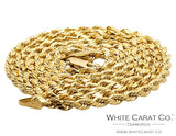 10K Gold Rope Chain - 2.0 mm