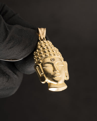 Buddha Pendant in 10K Gold