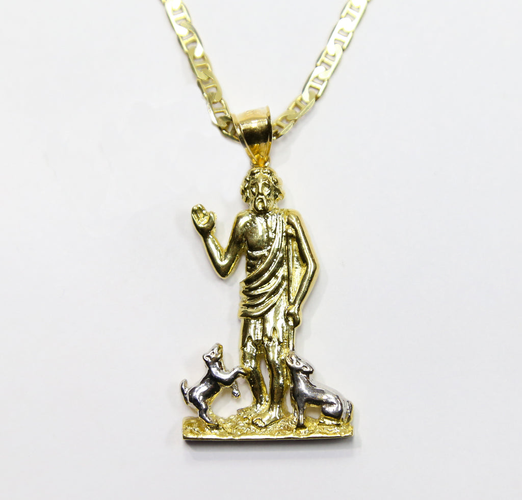 king chain with necklace johnny diamonds gold cross img