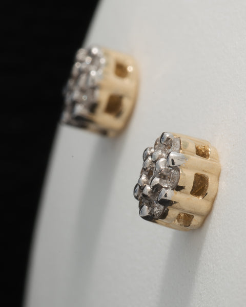 0.11 CT. Ladies' Diamond Studs in 10K Gold
