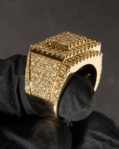 5.50 CT. Diamond Ring in 10K Gold