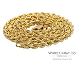 10K Gold Rope Chain - 3.0 mm