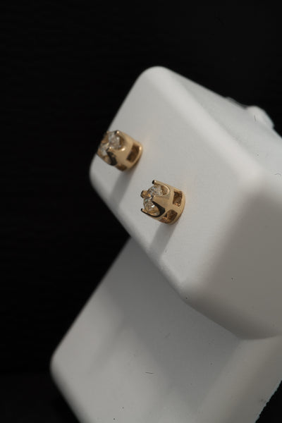 0.20 CT. Ladies' Diamond Studs in 10K Gold