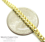 10K Gold Solid Franco Chain - 5.0 mm