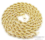 10K Gold Rope Chain - 4.0 mm