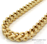10K Gold Semi-Solid Franco Chain - 5.0 mm