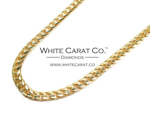 10K Gold Solid Miami Cuban Chain - 6.0 mm