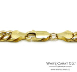 10K Gold Semi-Solid Miami Cuban Chain - 6.0 mm