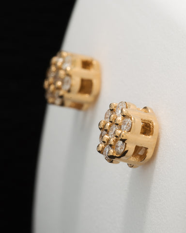 0.16 CT. Ladies' Diamond Studs in 10K Gold