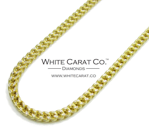 10K Gold Diamond-Cut Franco Chain - 2.5 mm