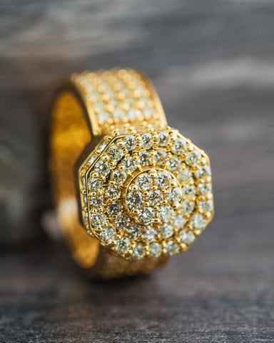 4.11 CT. Diamond Eternity Ring in 10K Gold