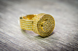 4.05 CT. Rounded Diamond Ring in 10K Gold