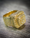 5.50 CT. Diamond Ring in 14K Gold