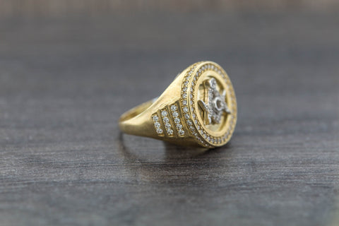 Masonic Ring in 10K Gold