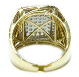 1.41 CT. Convex Diamond Ring in 10K Yellow Gold