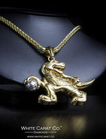 Raptors Gold Pendant in 14K Gold