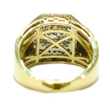 1.03 CT. Octagonal Diamond Ring in 10K Yellow Gold