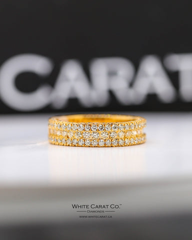2.76 CT. Exclusive Men's Diamond Ring in 10K Gold
