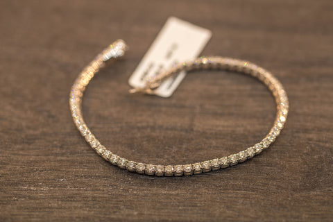 3.00 CT. DIAMOND TENNIS ROW BRACELET IN 14K GOLD
