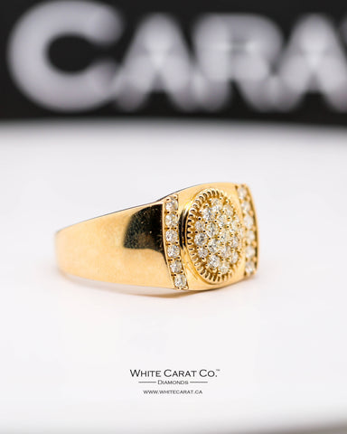 0.75 CT. Exclusive Men's Diamond Ring in 10K Gold