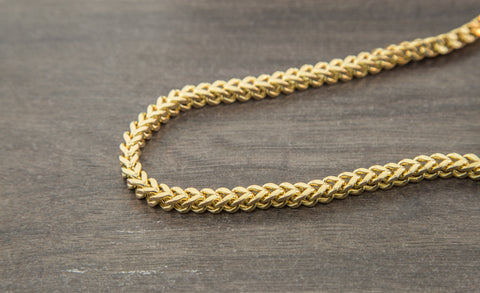 10K Gold Franco Chain - 5.00 mm