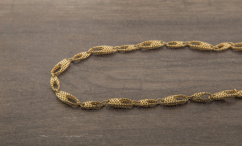 10K Gold Gucci Link Chain - 8.00 mm
