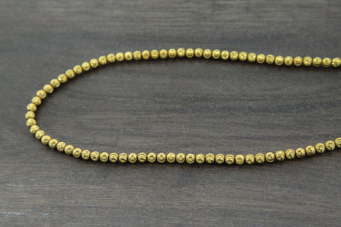 10K Gold Beads Chain