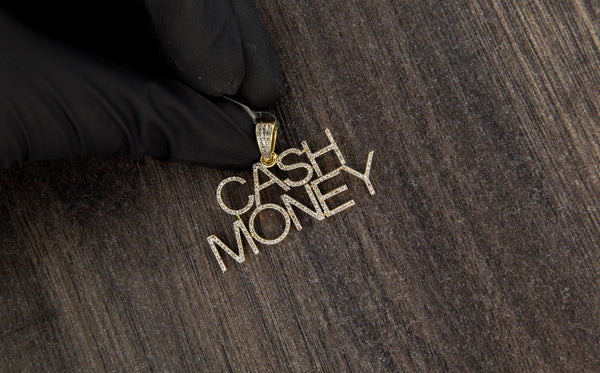 0.54 CT. Dia CASH MONEY Pendant in 10K Gold