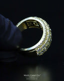 3.97 CT. Exclusive Men's Diamond Ring in 10K Gold