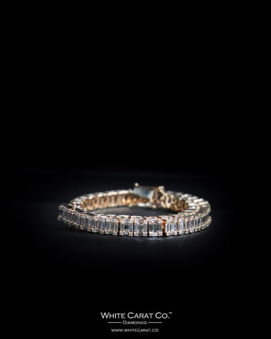 5.10 CT. Ladies' Diamond Bracelet in 14K Gold