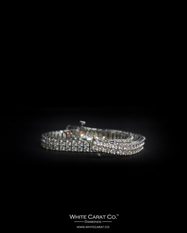 5.75 CT. Ladies' Diamond Bracelet in 14K Gold