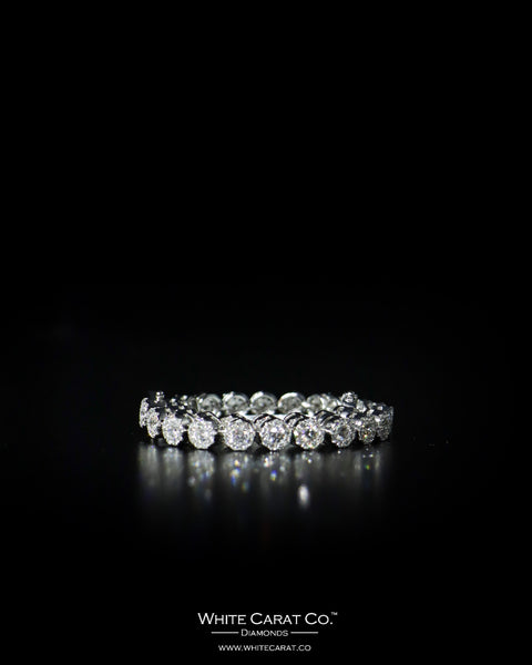 6.05 CT. Ladies' Diamond Bracelet in 14K Gold