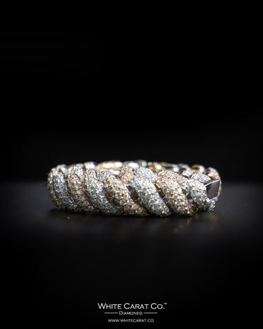 10.60 CT. Ladies' Diamond Bracelet in 14K Gold