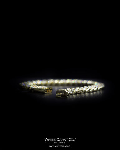 6.50 CT. Ladies' Diamond Bracelet in 10K Gold
