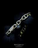 3.42 CT. Diamond Bracelet in 14K Gold