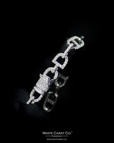 3.31 CT. Diamond Bracelet in 14K Gold