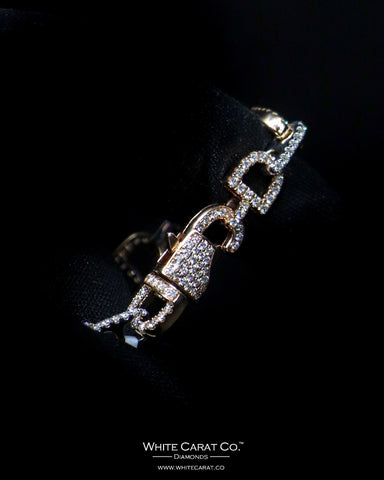 3.40 CT. Diamond Bracelet in 14K Gold
