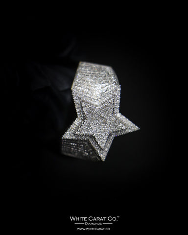 0.77 CT. Exclusive Diamond Men's Ring in 10K Gold